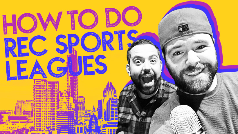 how to join a rec sports league