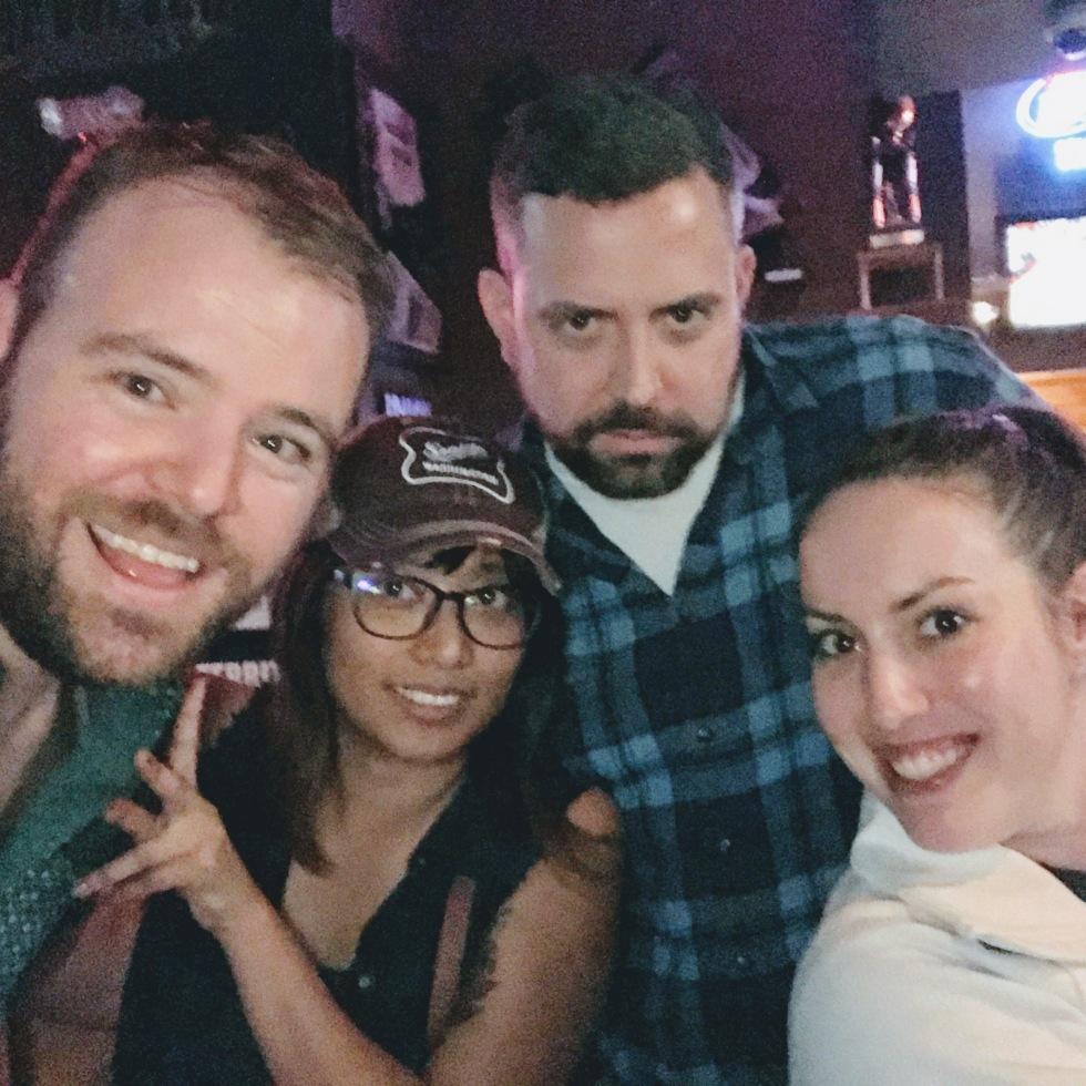 Ryan Glanzer, Jen Udan, Ryan Bartholic, Jenny Stull