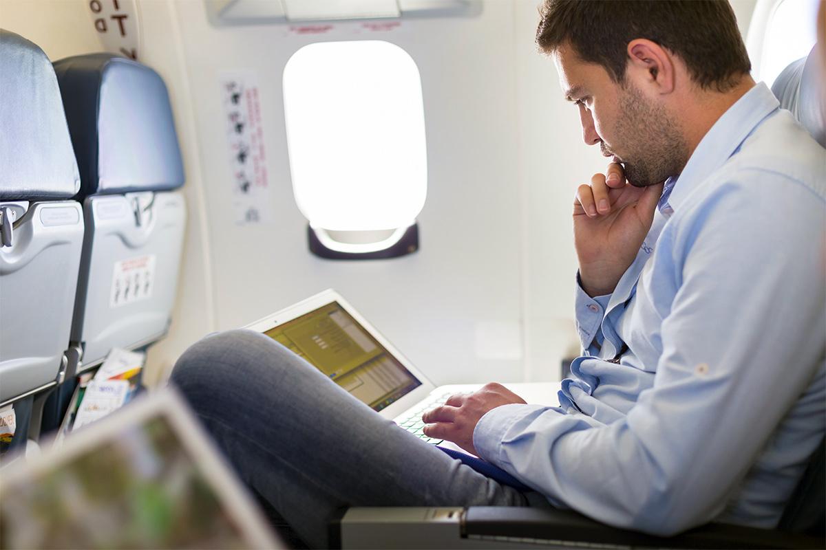 poop on airplane